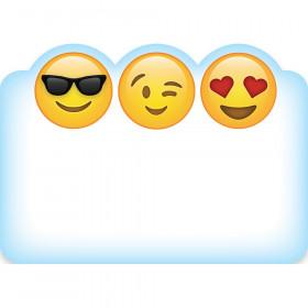 Emoji Fun Name Tag Labels, 36/Pack