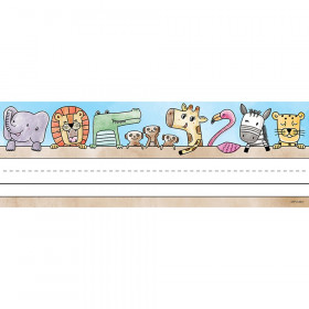 Safari Friends Name Plates