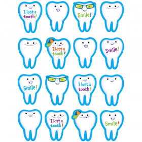 I Lost A Tooth Stickers 80 Per Pack