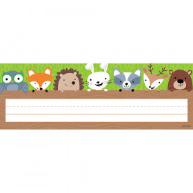 Woodland Friends Name Plate, 36 Per Pack