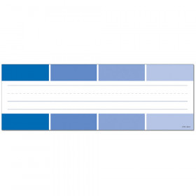 Painted Palette Blue Paint Chip Name Plates
