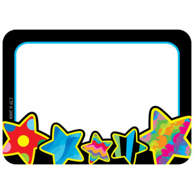 Poppin' Patterns Stars Name Tag Labels, 36/Pack