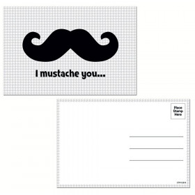 I Mustache You... Post Cards