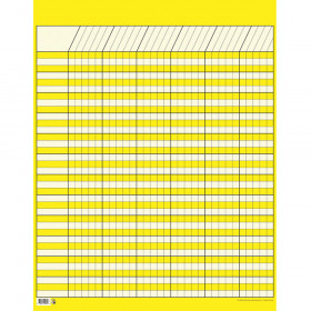 Yellow Large Vertical Incentive Chart