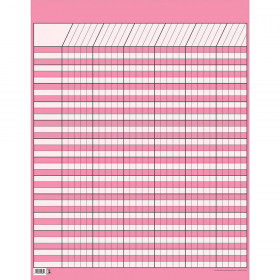 Lg Pink Vertical Incentive Chart