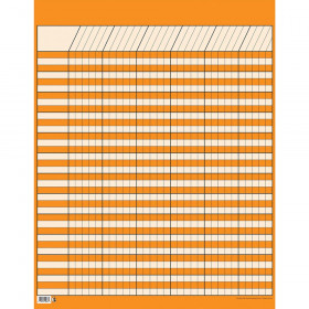 Lg Orange Vertical Incentive Chart