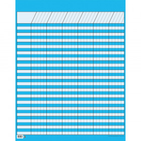 Blue Large Vertical Incentive Chart