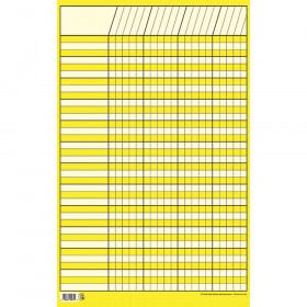 Yellow Small Vertical Incentive Chart