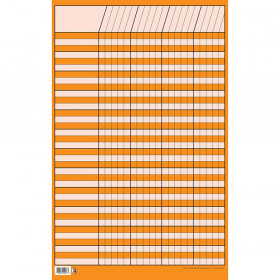 Orange Small Vertical Incentive Chart