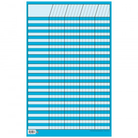 "Blue Small Vertical Incentive Chart, 14-1/4"" x 22"""