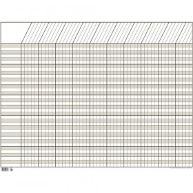 White Large Horizontal Incentive Chart