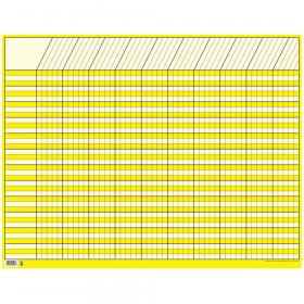 Yellow Large Horizontal Incentive Chart