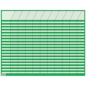 Green Large Horizontal Incentive Chart