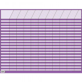 Purple Large Horizontal Incentive Chart