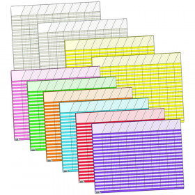 Large Horizontal Incentive Charts Variety Pack