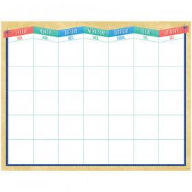 Midcentury Mod Calendar Chart