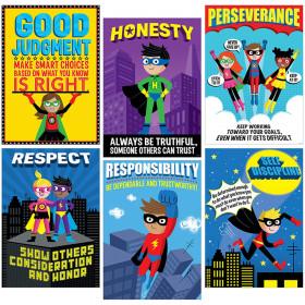 Superhero Character Ed Inspire U Poster Pack