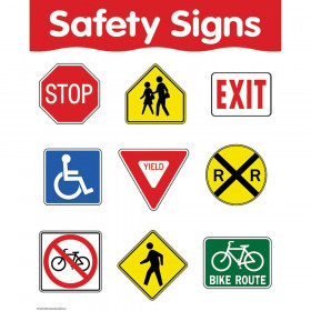 Safety Signs Basic Skills Chart