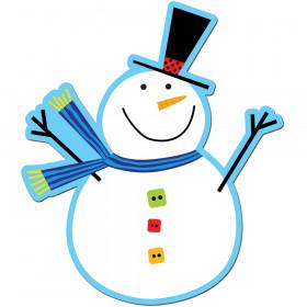"""Snowman 6"""" Designer Cut-Outs"""