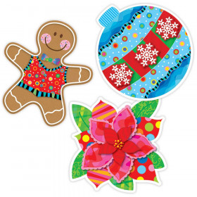 "Holiday Cheer 10"" Jumbo Designer Cut-Outs"