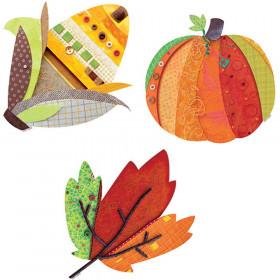 """Autumn Harvest 6"""" Designer Cut-Outs"""