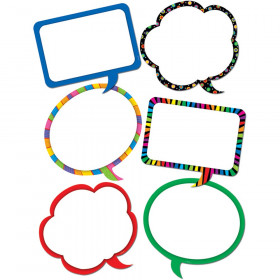 Speech Bubbles 10In Designer Cut-Outs