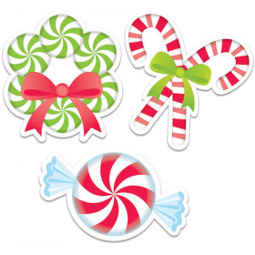 "Peppermint Candies 6"" Designer Cut-Outs"