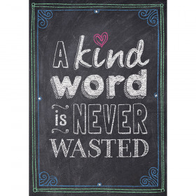 A kind word is never wasted Inspire U Poster
