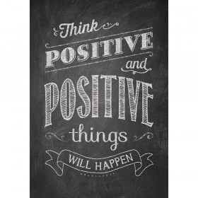Think positive and positive Inspire U Poster
