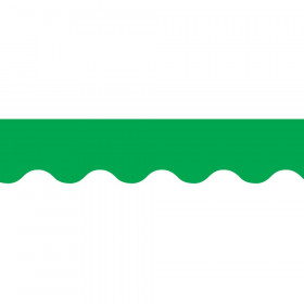 Green Wavy Border
