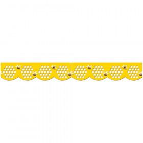 Honeycomb Jumbo Stencil-Cut Border
