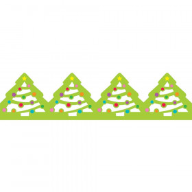 Holiday Trees Jumbo Stencil-Cut Borders