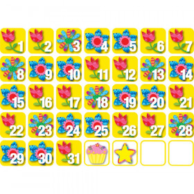May  Poppin' Patterns Seasonal Calendar Days