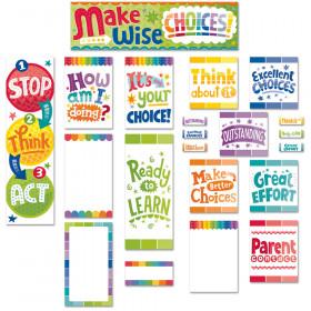 Painted Palette Behavior Clip Chart Mini Bulletin Board