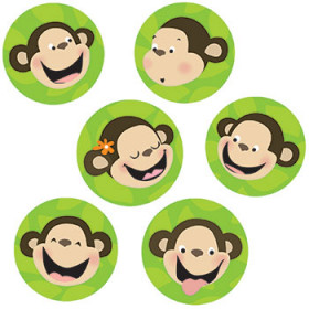 Monkeys 1In Designer Cut Outs