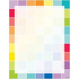 Painted Palette Paint Chips Printer Paper