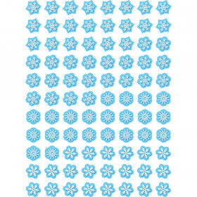 Snowflakes Hot Spots Stickers