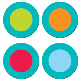 Dots on Turquoise Dots Hot Spots Stickers