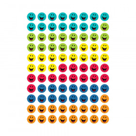 Bright Smiles Hot Spot Stickers, 880/Pack