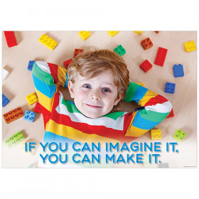 If you can imagine it Inspire U Poster, Gr. PreK-1