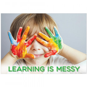 Learning Is Messy Inspire U Poster, Gr. PreK-1