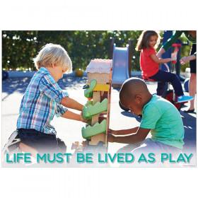 Life must be lived... Inspire U Poster, Gr. PreK-1