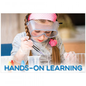 Hands-On Learning  Inspire U Poster, Gr. PreK-1