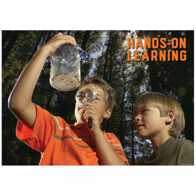 Hands-On Learning Inspire U Poster, Gr. 3+