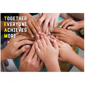 Together Everyone Achieves More Inspire U Poster, Gr. 3+