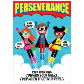 Perseverance Superhero Inspire U Poster