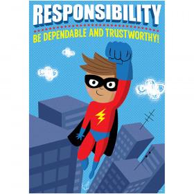 Responsibility Superhero Inspire U Poster