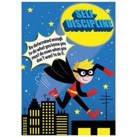 Self-Discipline Superhero Inspire U Poster