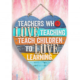 Teachers who love teaching Inspire U Poster