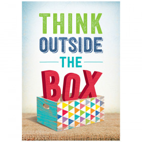 Think outside the box! Inspire U Poster
